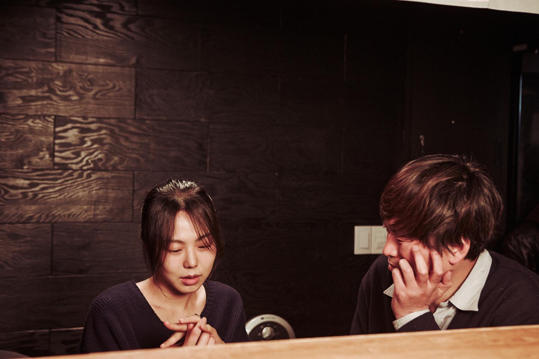 Kim Min-hee and Jung Jae-young in Hong Sangsoo's