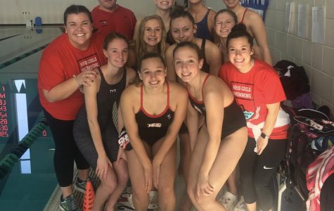 Huntley Girls Swim Swam to Success