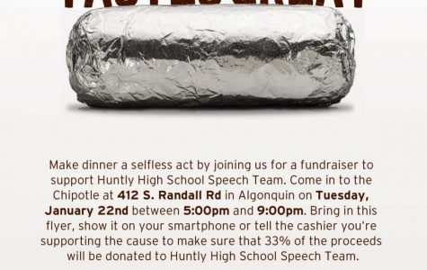 Taco-about the Speech Team Fundraiser