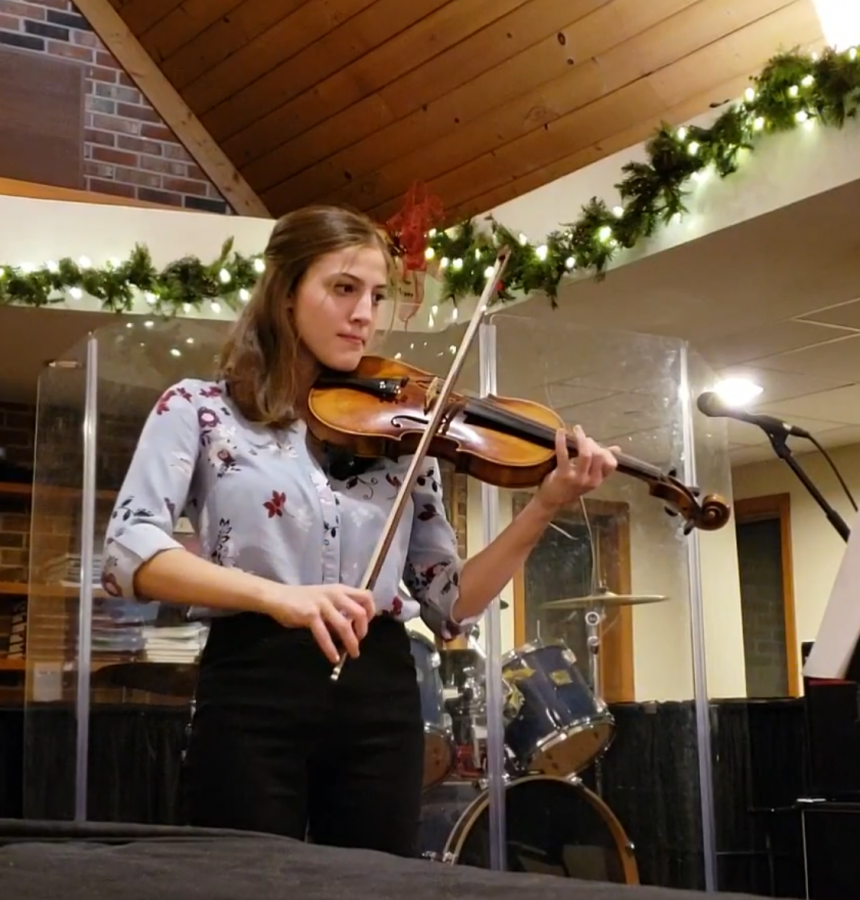 Feeling the Music: Sophomore Mollie Paeth Expresses Her Talent