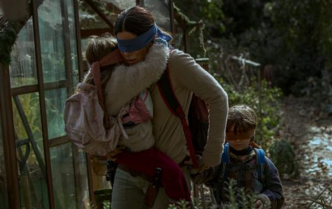 """Bird Box"" Portrays a Stark Outlook on Motherhood"