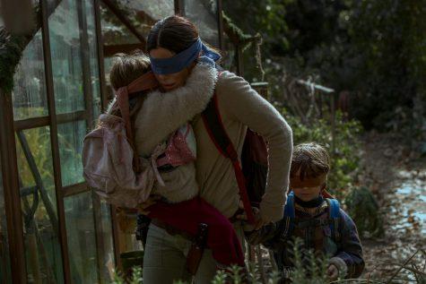 """Bird Box"" Portrays a Stark Outlook on Motherhood"