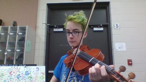 Violin propels Caden Rasmussen into his future