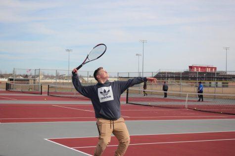 Boys Tennis Photographs, 3.12.19 by Elizabeth Kim