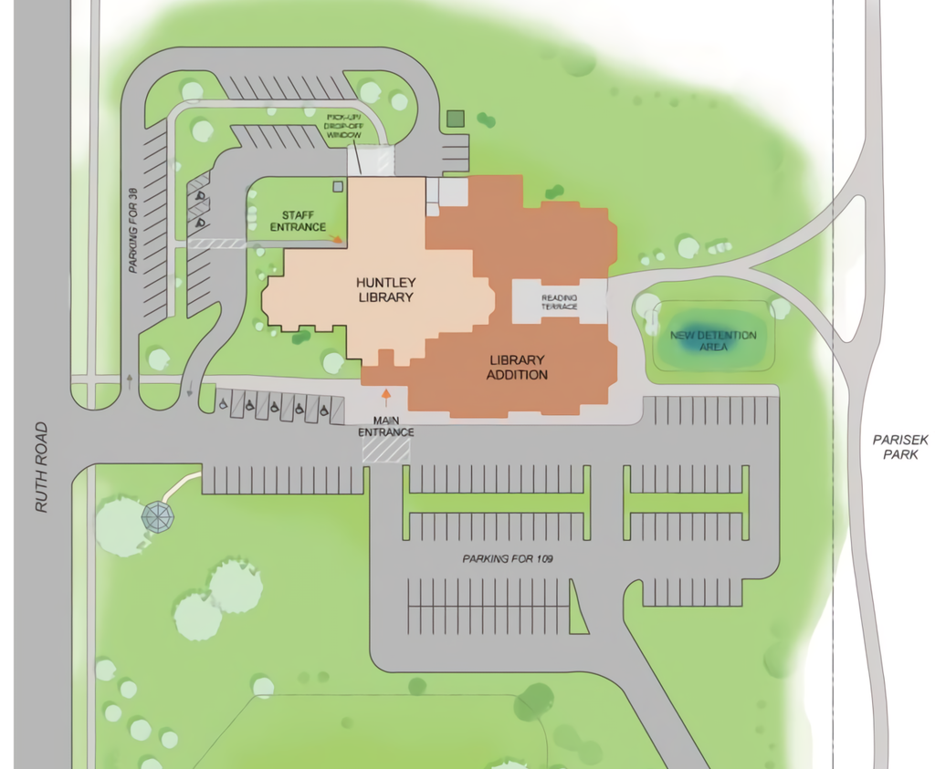 Site plan (courtesy of the official website)