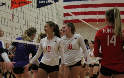Huntley vs. Hampshire Volleyball Photographs, 9.19.19