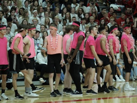 Homecoming pep rally proves to be a success