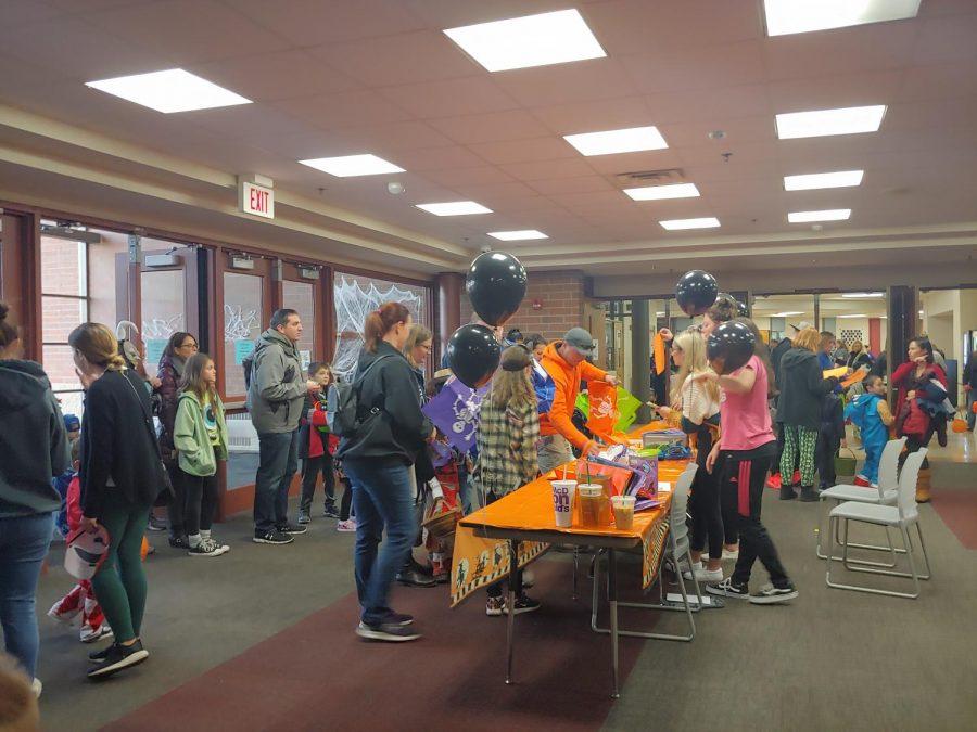 Spooky Buddies event a massive success at Huntley High School