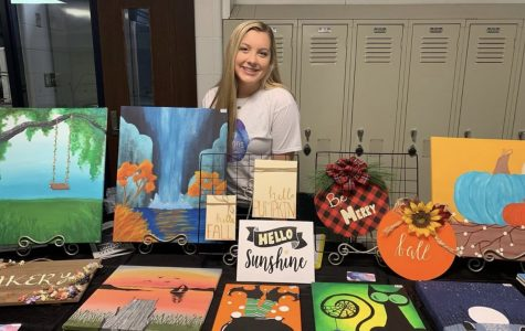 Karly Melendy expresses herself through art
