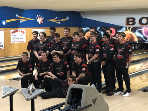 Boys bowling falls short of South Elgin