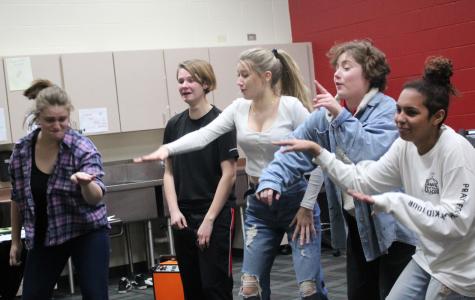 Theater Rehearsal Photographs, 12.4.19