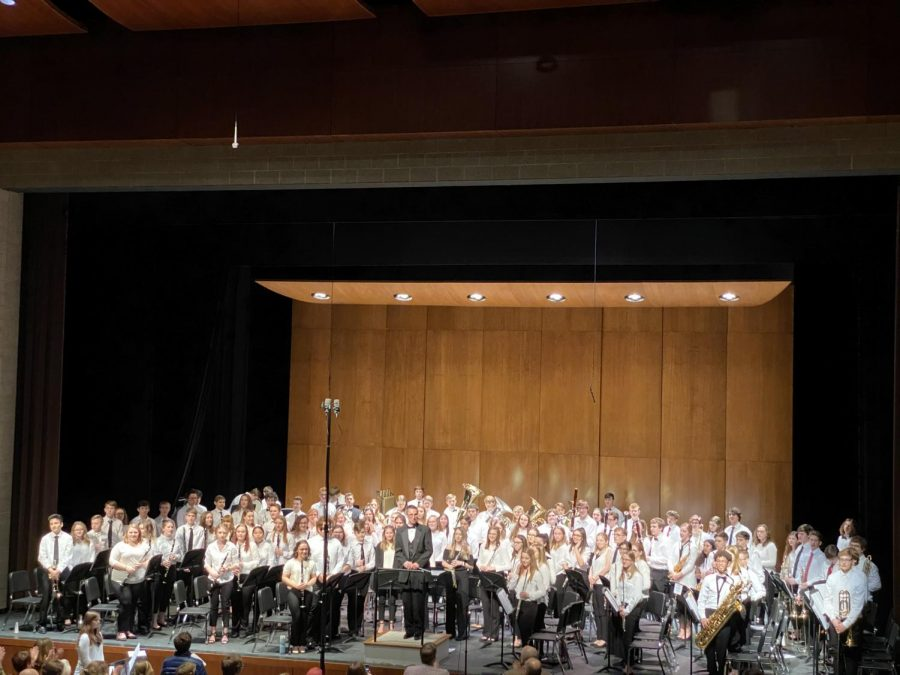 """World Premiere of Andrew Boysen Jr.'s new piece """"Prometheus"""" takes the McHenry County Honor Band to a new level"""