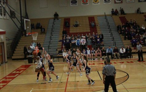 Huntley girls basketball triumphs over Hampshire to further conference status