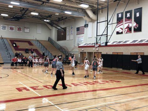 Huntley girls basketball beats the McHenry Warriors 46-37