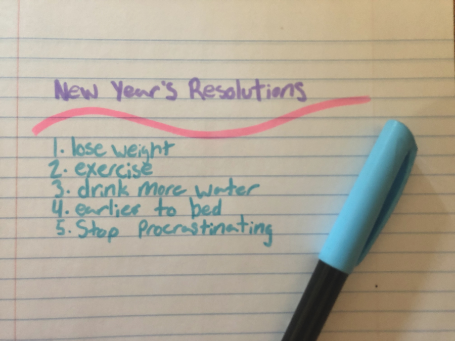 New Years Resolutions: Why can