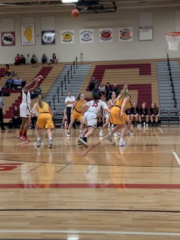 Huntley girls basketball stays strong against Jacobs