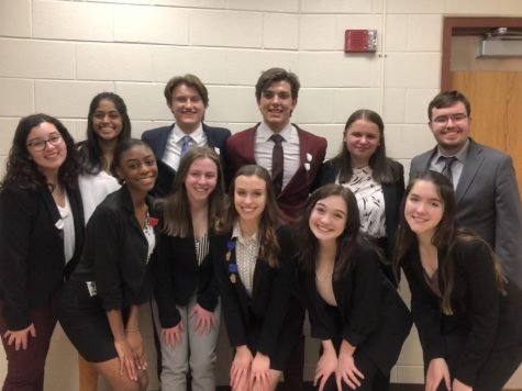 Speech Team strives for success at Regionals