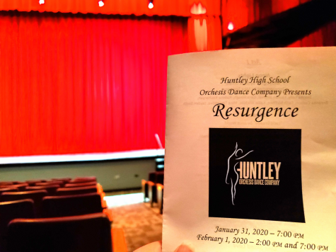 Huntley's Orchesis team does an outstanding performance