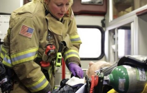 …to be a female firefighter paramedic