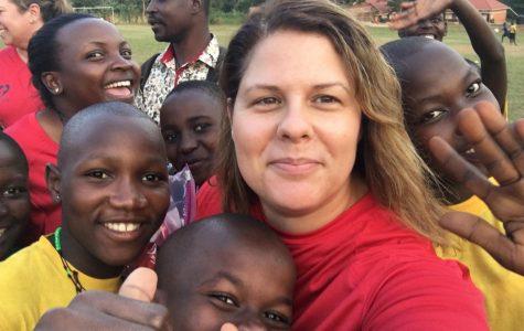 …to volunteer with children in Africa