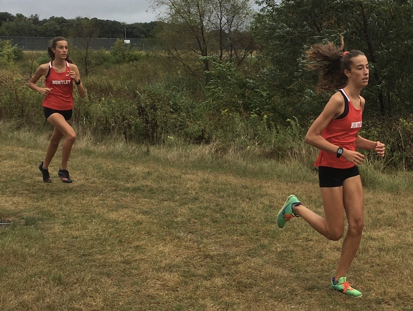 Breanna and Brittney Burak pace their way to victory
