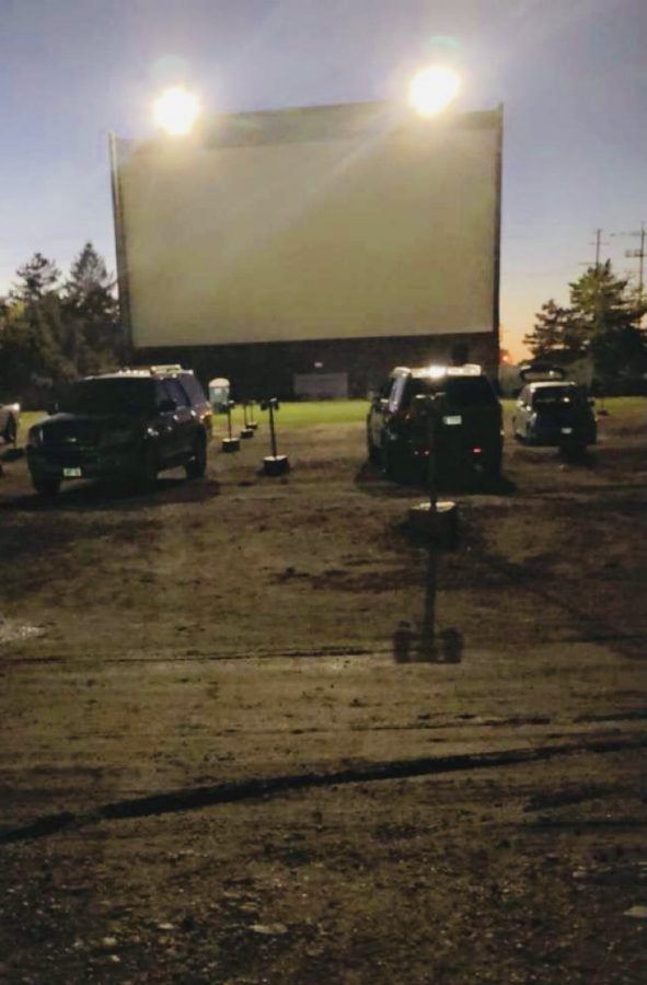 The successful STUCO drive-in movie