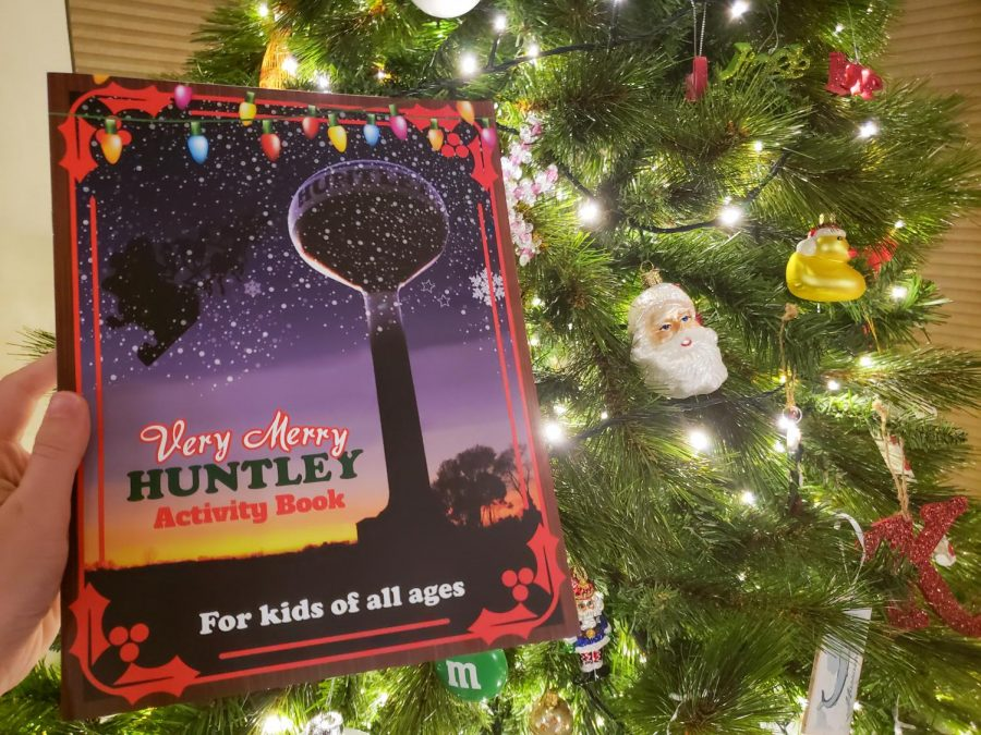 Huntley Area Public Library's holiday goody bags