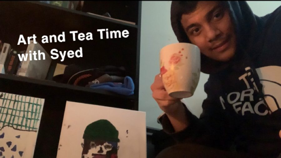Art and Tea Time with Syed