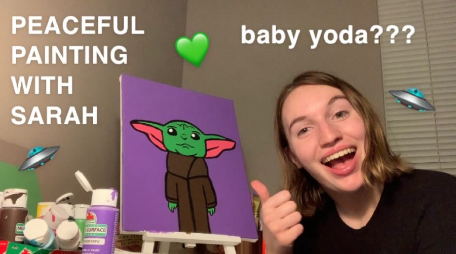 Peaceful Painting with Sarah Episode 3