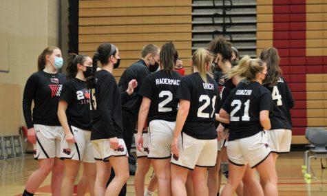 Girls basketball dominates Senior Night