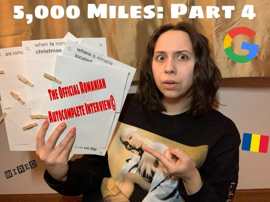 5,000 Miles Episode 4: Google auto-fill