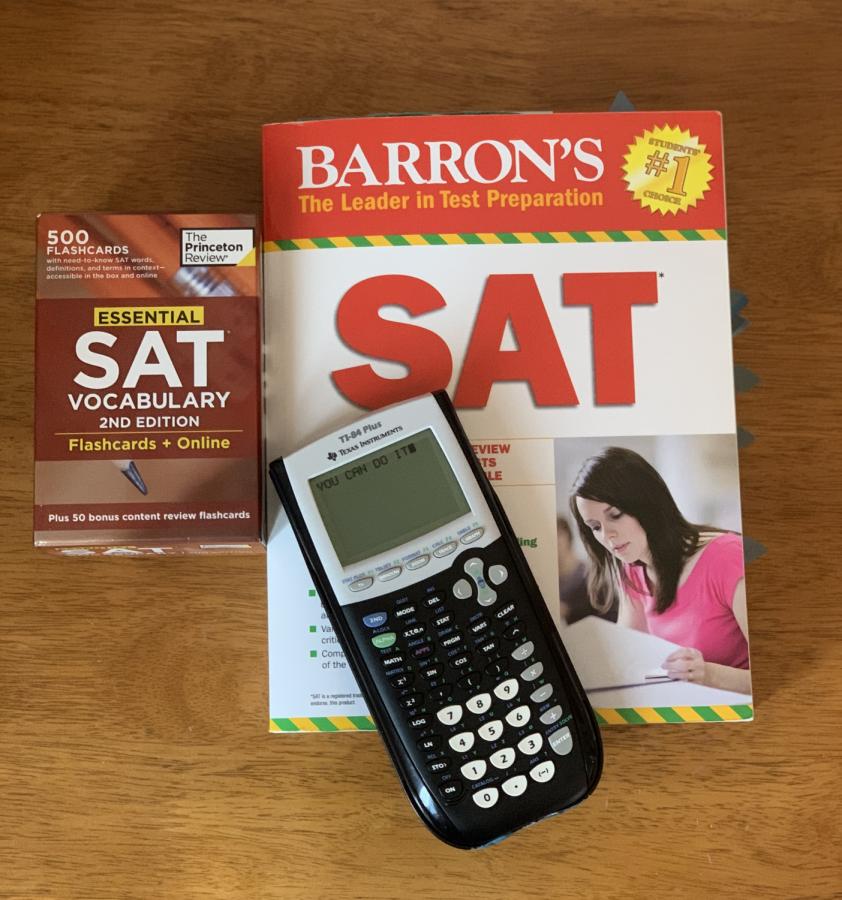 Senior advice for SAT