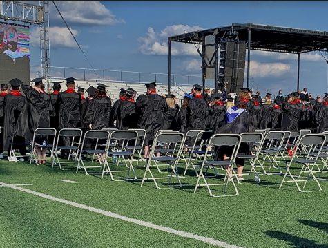 COVID-19 did not stop Huntley's graduation ceremony