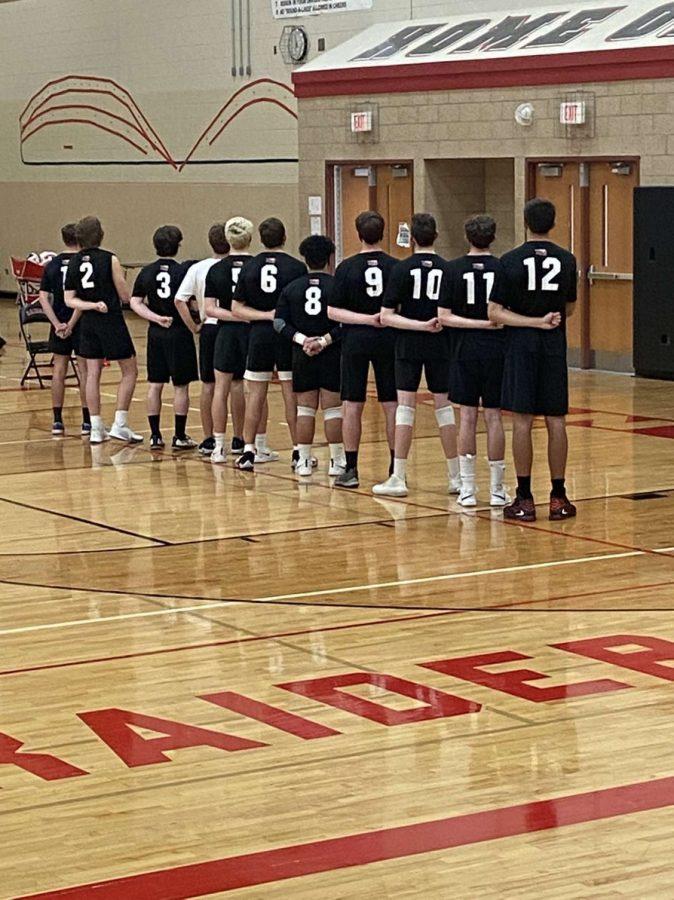 Boys volleyball fights heard against Mundelein