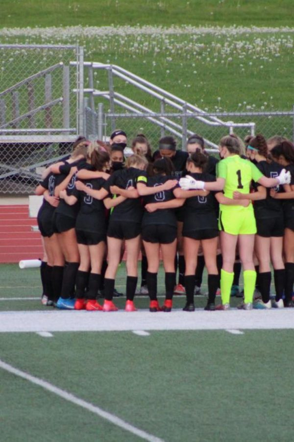Girls Varsity Soccer against Burlington Central