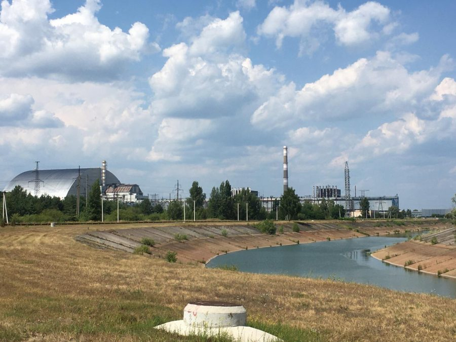 The area around the Chernobyl nuclear power plant is still uninhabitable for humans, but many ecosystems have bounced back and begun to thrive. (Courtesy of Brendan Dowling)