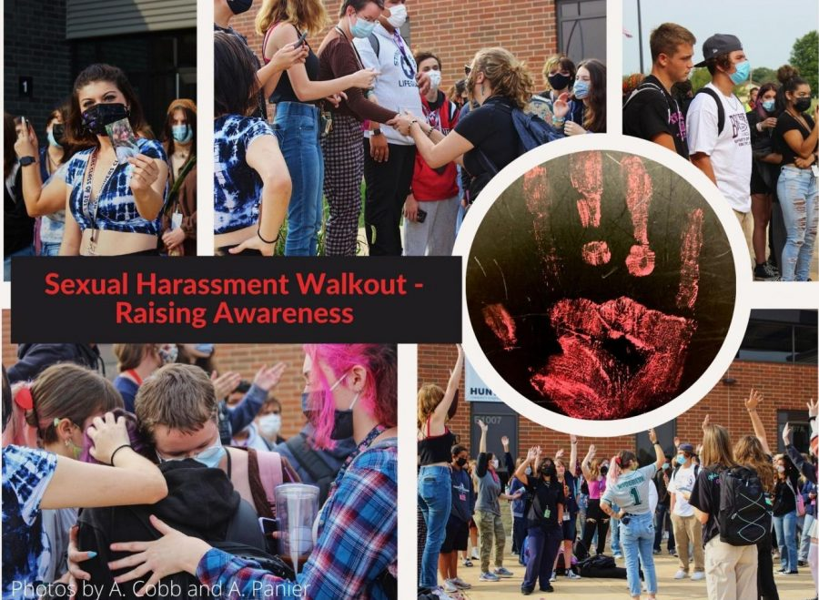Sexual harassment walkout encourages students to speak up