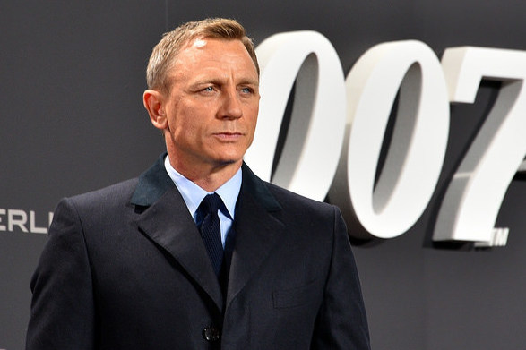 Daniel Craig plays James Bond in the final film of the franchise. (CC-BY-2.0)