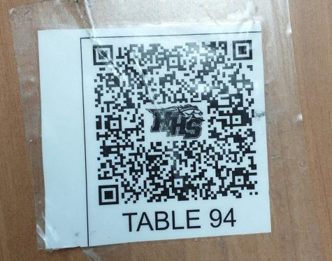 QR codes on lunch tables do not help contact tracing